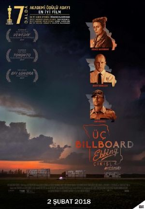 Üç Billboard Ebbing Çıkışı, Missouri - Three Billboards Outside Ebbing, Missouri